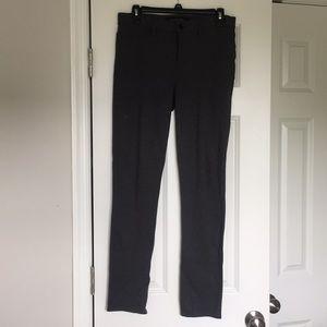 Calvin Klein Dark Gray Skinny Dress Slacks